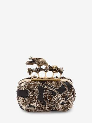 Alexander McQueen Crow Box Clutch