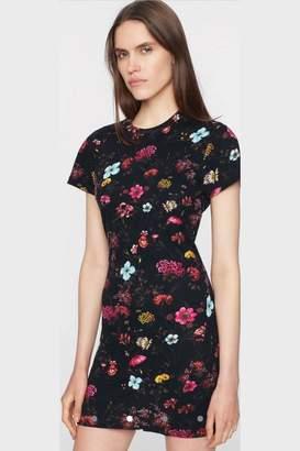 Pam & Gela Fineline Floral Dress