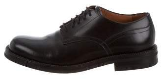 Dries Van Noten Round-Toe Leather Oxfords