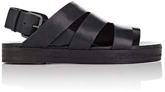 Marsèll Women's Asymmetric Leather Slingback Sandals
