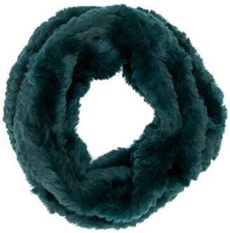 Yves Salomon Accessories snood knitted scarf