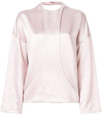 Valentino layered panel top