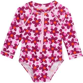 Tea Collection Lanai One-Piece Rashguard Swimsuit