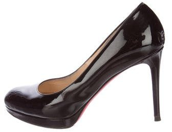 Christian Louboutin Christian Louboutin New Simple Patent Leather Pumps