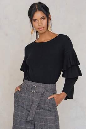 Rut & Circle Rut&Circle Tracy Frill Sleeve Knit
