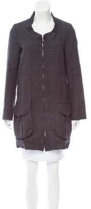 Marni Plaid Wool Coat w/ Tags