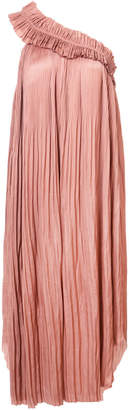 Ulla Johnson Jade pleated asymmetric dress
