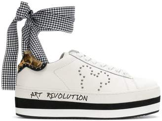 Moa Master Of Arts Disney ankle tie sneakers