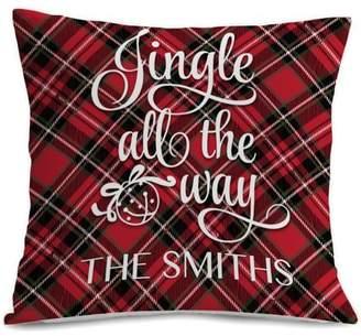 MonogramOnline Custom Home Jingle All The Way Cushion Cover