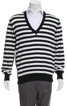 Dolce & Gabbana Woven Crew Neck Sweater w/ Tags