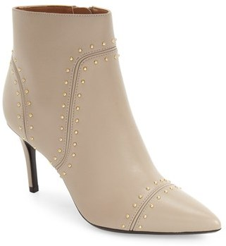 Women's Calvin Klein Grazie Studded Pointy Toe Bootie $178.95 thestylecure.com