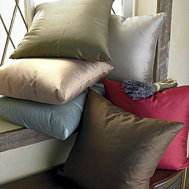 Patina Silk Pillow by Chris Madden®