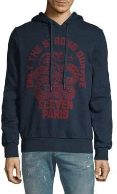 Eleven Paris Logo Graphic Hoodie