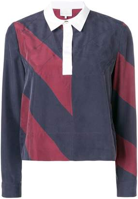 Tommy Hilfiger colour blocked rugby top