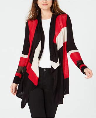 INC International Concepts I.N.C. Colorblocked Open Cozy, Created for Macy's