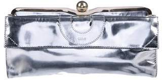 Chloé Metallic Frame Clutch Bag