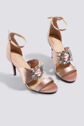 Na Kd Shoes Jewel Detail High Heel Sandals Black