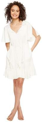 Hale Bob Golden Haze Rayon Stretch Satin Woven Dress Women's Dress