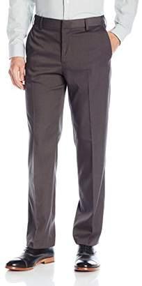Van Heusen Men's Premium No Iron Straight Fit Flat Front Pant