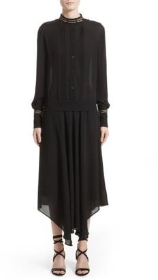Women's Belstaff Mareena Silk Dress $1,195 thestylecure.com