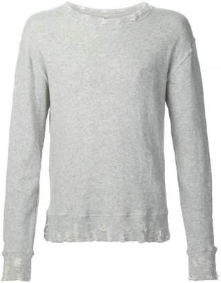 R 13 crew neck sweater
