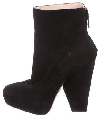 920e7eb53b28 Suede High Heel Boots - ShopStyle