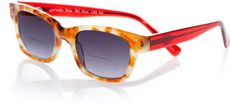 Eyebobs Fizz Ed Two-Tone Sun Readers, Tortoise/Red