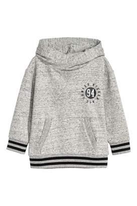 H&M Printed Hooded Sweatshirt