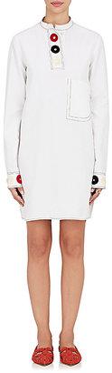 Derek Lam Women's Embroidered Cotton Shirtdress $1,495 thestylecure.com