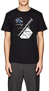 "Second / Layer Men's ""Looking For Love"" Cotton T-Shirt-Black Size L"