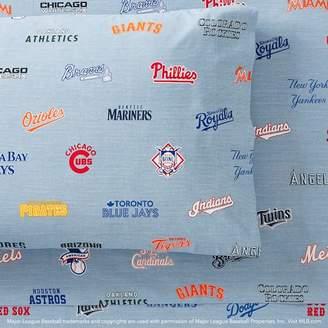 Pottery Barn Teen MLB Sheet Set, Full, Multi