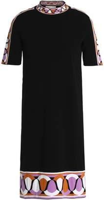 Emilio Pucci Jacquard-Knit Mini Dress
