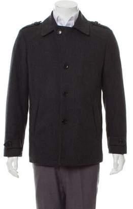 MICHAEL Michael Kors Woven Wool Coat