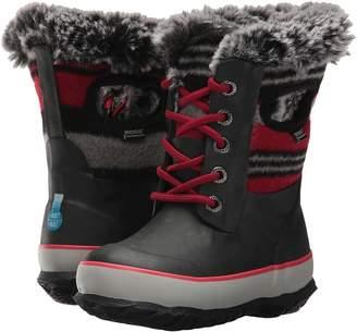 Bogs Arcata Wool Stripe Girls Shoes