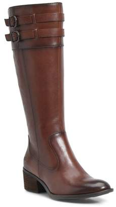 Børn Tay Block Heel Knee High Boot (Women)