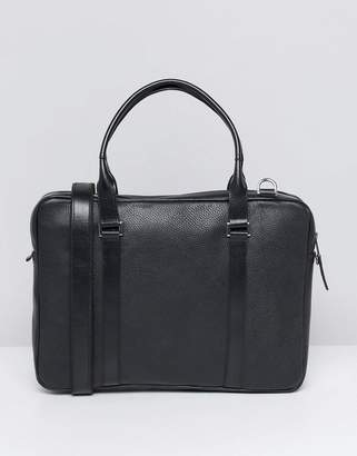 Royal RepubliQ Affinity Leather Laptop Bag In Black