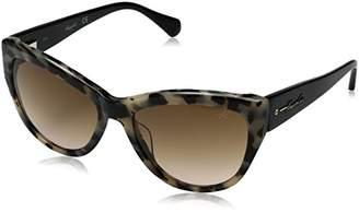 Kenneth Cole New York Women's Kc7181 Polarized Cateye Sunglasses