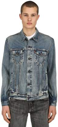 Levi's Vintage Washed Denim Trucker Jacket