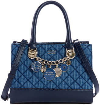 GUESS Victoria Double Handle Satchel
