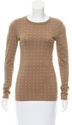 Torn By Ronny Kobo Embellished Long Sleeve T-Shirt