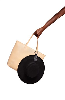 TOPTOTE The Drop Leather Hat Clip