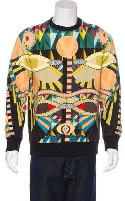 Givenchy 2016 Egyptian Eyes Print Sweatshirt