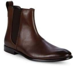 John Varvatos Classic Leather Ankle Boots