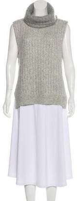 3.1 Phillip Lim Knit Turtle Neck Sleeveless Sweater