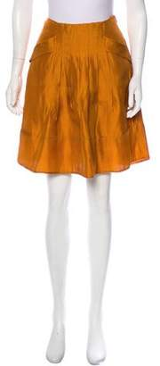 Emporio Armani Mini Silk Skirt