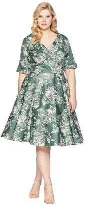 Unique Vintage Plus Size Delores Swing Dress Women's Dress