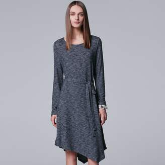 Vera Wang Women's Simply Vera Asymmetrical Shift Dress
