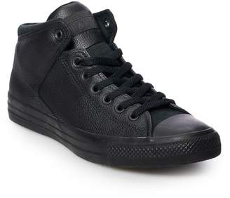 Converse These _ Chuck Taylor All Star High Street shoes will become a wardrobe staple. Chuck Taylor All Star High Street Leather Sneakers