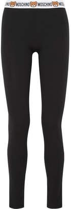 Moschino Stretch-cotton Jersey Leggings