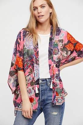 Enchanted Blooms Printed Kimono